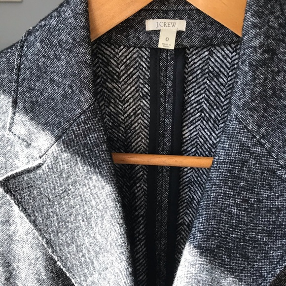 J. Crew Jackets & Blazers - J.Crew Double Breasted Blazer XSmall Black/Gray